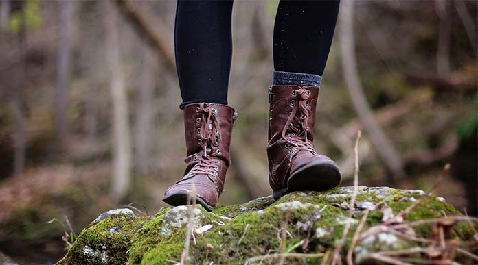 How to wear Hiking boots with jeans