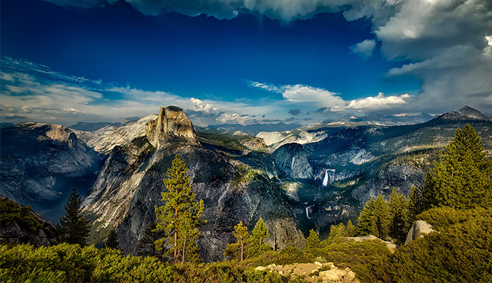 best day hikes in yosemite