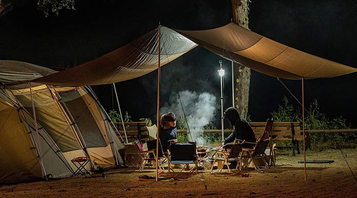 Best tent with awning