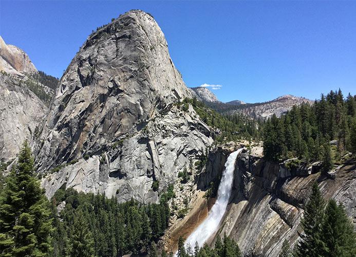 hike to Nevada falls
